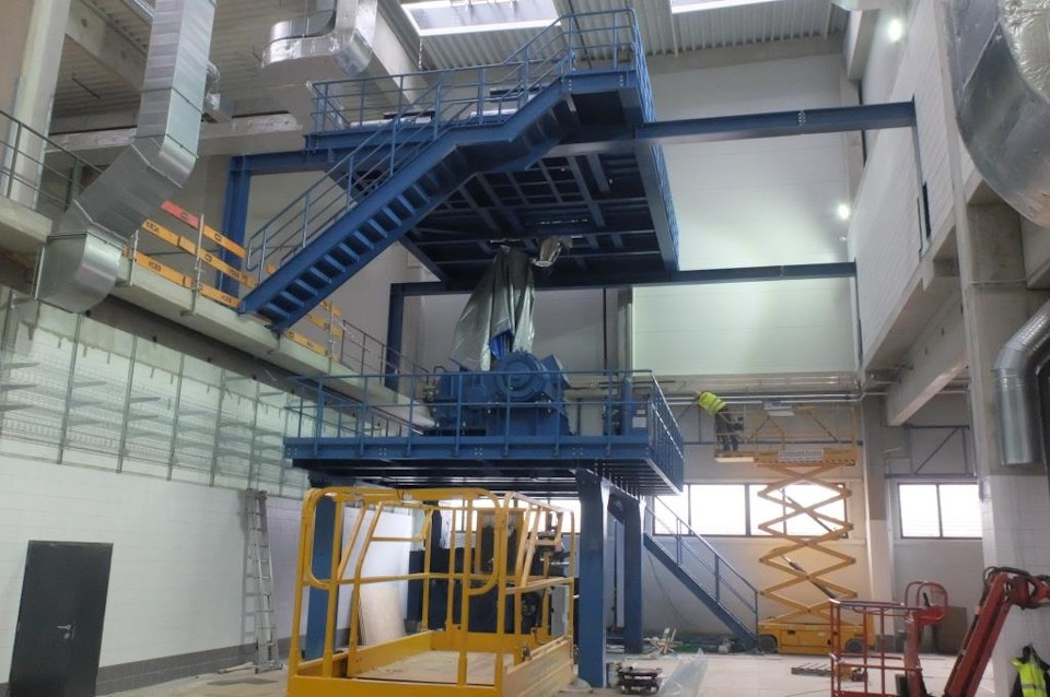 Warex - Stahlkonstruktionen - Datwyler