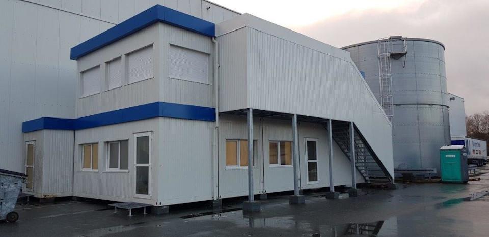 Warex - Modulgebäude - Verwaltungskomplex